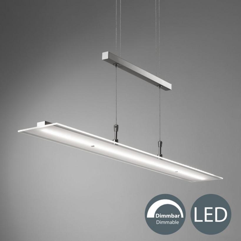 18 W Led Pendel Lampe Verstellbar Wohnzimmer Hänge Leuchte 4 von Wohnzimmer Lampe Glas Photo