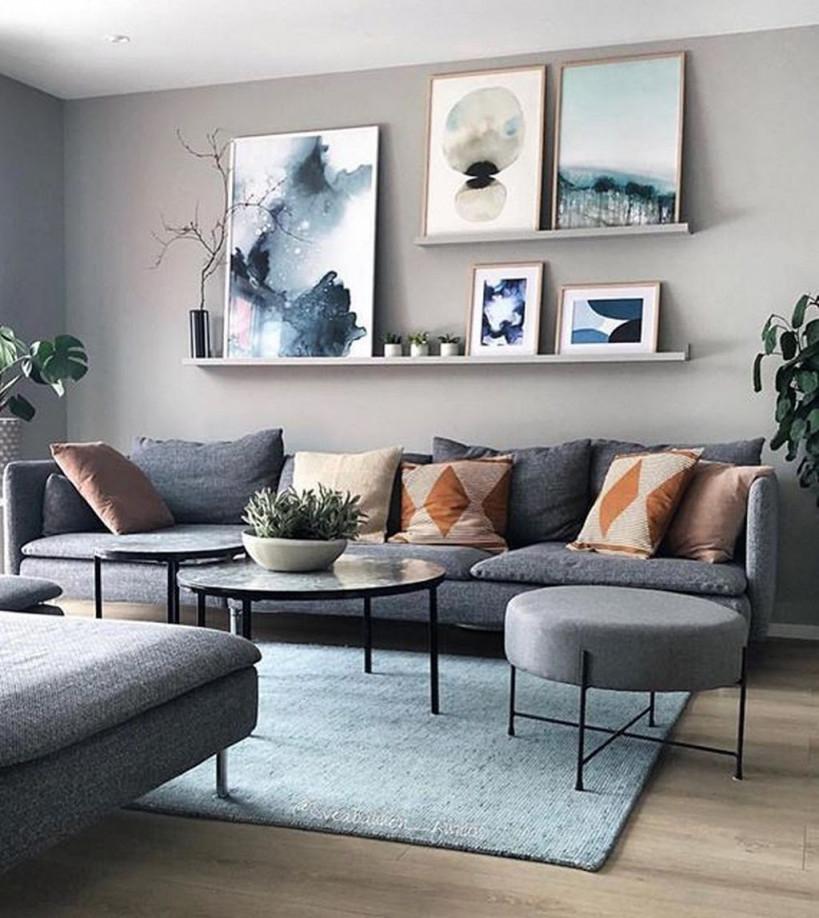 20  Attraktive Wohnzimmerwanddekorideen Zum Kopieren So von Wohnraumgestaltung Wohnzimmer Ideen Bild