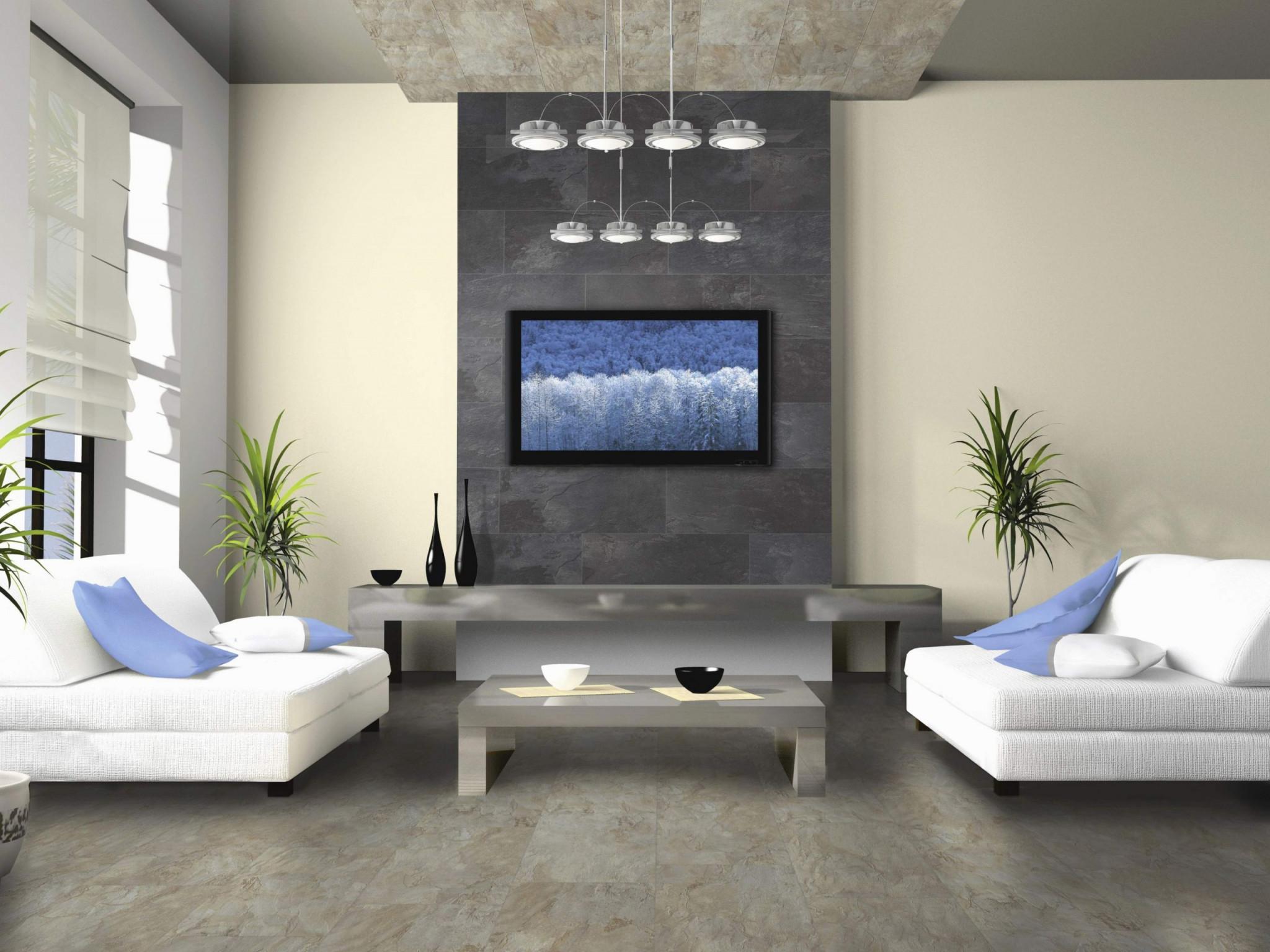 20 Fantastische Fernsehdekorationsideen Ordentlich von Deko Wohnzimmer Modern Photo