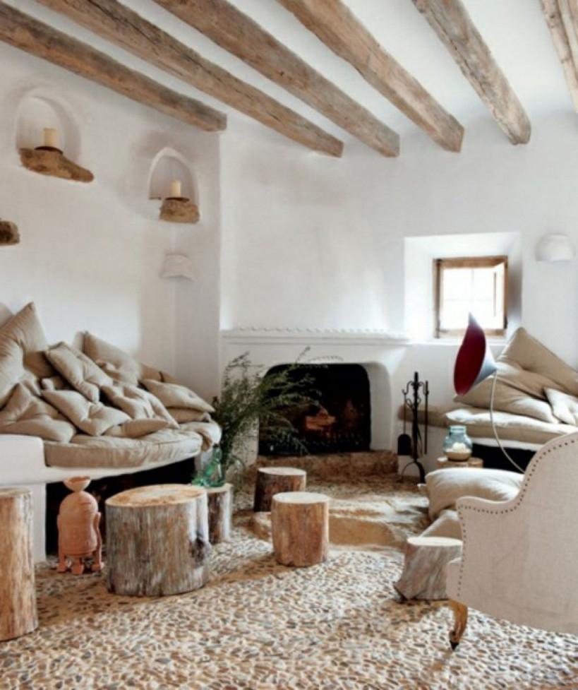 21 Kreative Deko Ideen Aus Baumstumpf Selber Machen von Deko Idee Wohnzimmer Bild