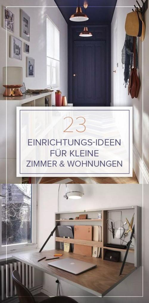 23 Großartige Einrichtungsideen Für Kleine Räume  Kleine von Wohnzimmer Ideen Kleine Räume Bild