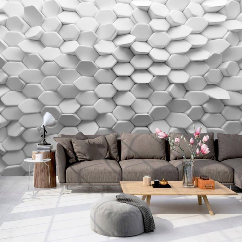 27 Abstrakte 3D Tapeten  Für Wenig Geld Die Große Show von Stylische Tapeten Wohnzimmer Photo