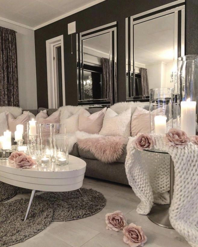 28 Cozy Living Room Decor Ideas To Copy  Wohnzimmer Ideen von Deko Modern Wohnzimmer Photo
