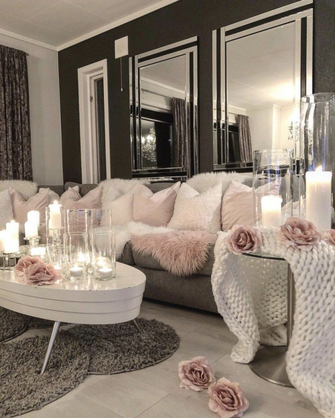 28 Cozy Living Room Decor Ideas To Copy  Wohnzimmer Ideen von Dekoration Wohnzimmer Ideen Bild