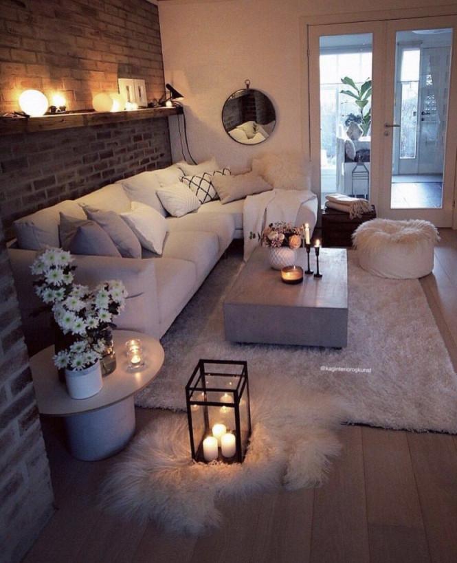 28 Cozy Living Room Decor Ideas To Copy  Wohnzimmer Ideen von Wohnzimmer Gemütlich Ideen Bild