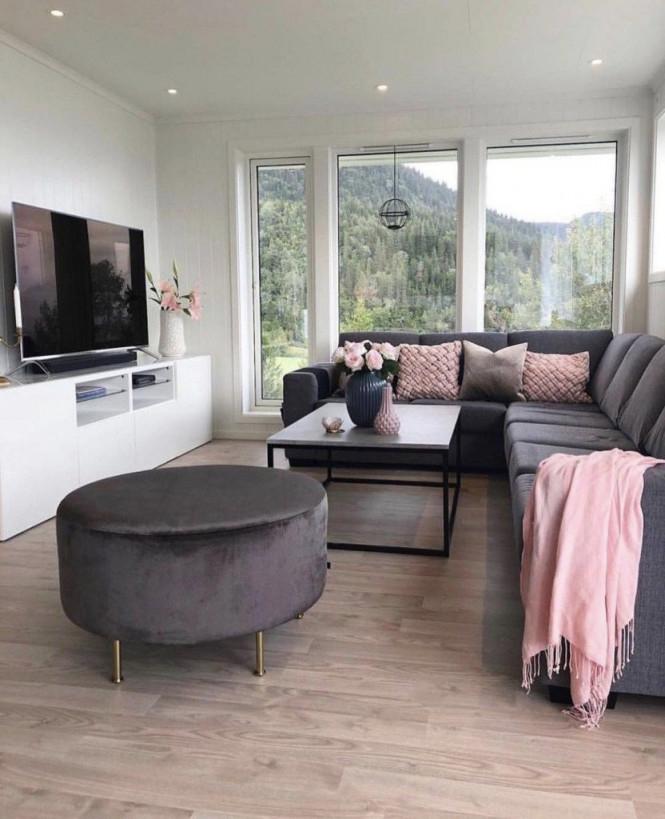 28 Gemütliche Wohnzimmer Deko Ideen Zum Kopieren von Moderne Gemütliche Wohnzimmer Bild