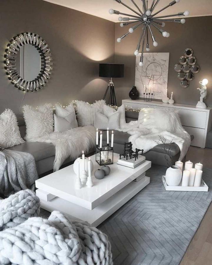28 Gemütliche Wohnzimmer Dekor Ideen Zum Kopieren von Gemütliches Wohnzimmer Ideen Photo