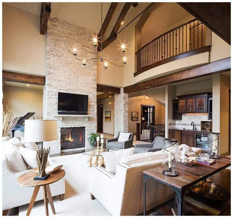 30 Inspirierend Wohnzimmer Rustikal Modern Einzigartig von Rustikales Wohnzimmer Ideen Bild
