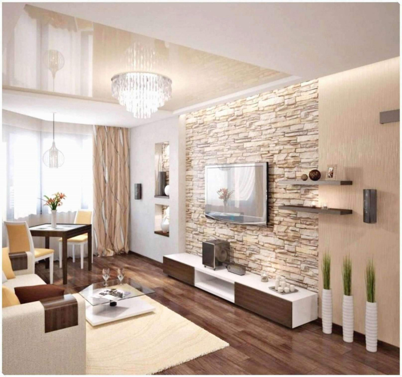 30 Luxus Kleines Wohnzimmer Mit Essbereich Einrichten von Kleines Wohnzimmer Gestalten Bild