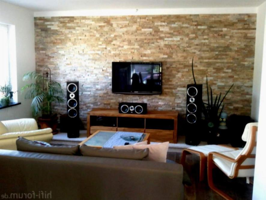 31 Schön Steintapete Wohnzimmer Inspirierend  Wohnzimmer Frisch von Wohnzimmer Ideen Mit Steintapete Photo