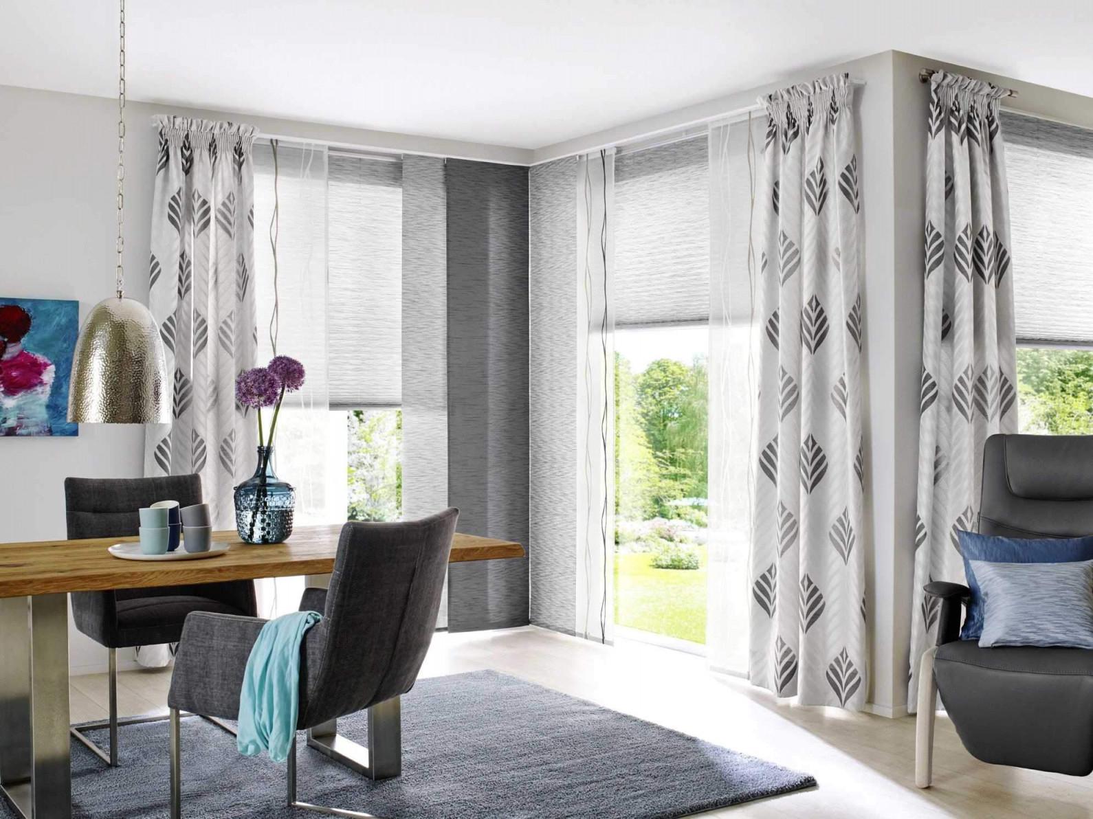 32 Einzigartig Gardinen Wohnzimmer Modern Ideen Schön von Wohnzimmer Gardinen Grau Modern Photo