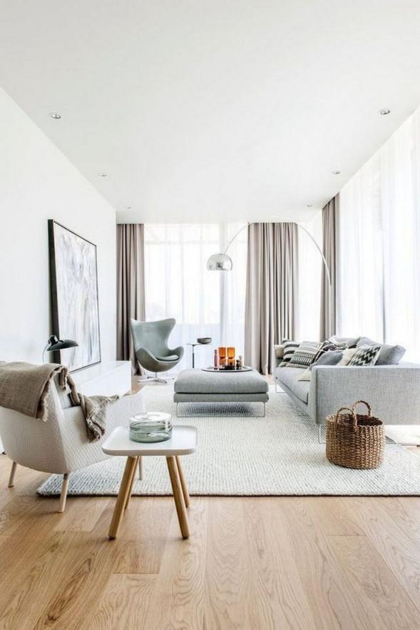 33 Erstaunliche Skandinavische Wohnzimmerdesignideen Im von Wohnzimmer Stil Ideen Bild