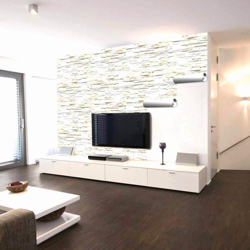 34 Reizend Stein Tapete Wohnzimmer Ideen Das Beste Von von Wohnzimmer Mit Tapete Gestalten Photo