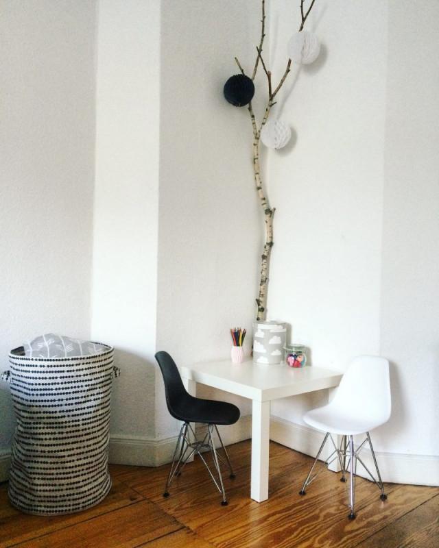 35 Ideen Für Birkenstamm Deko  Bringen Sie Die Natur In von Birkenstamm Deko Wohnzimmer Bild