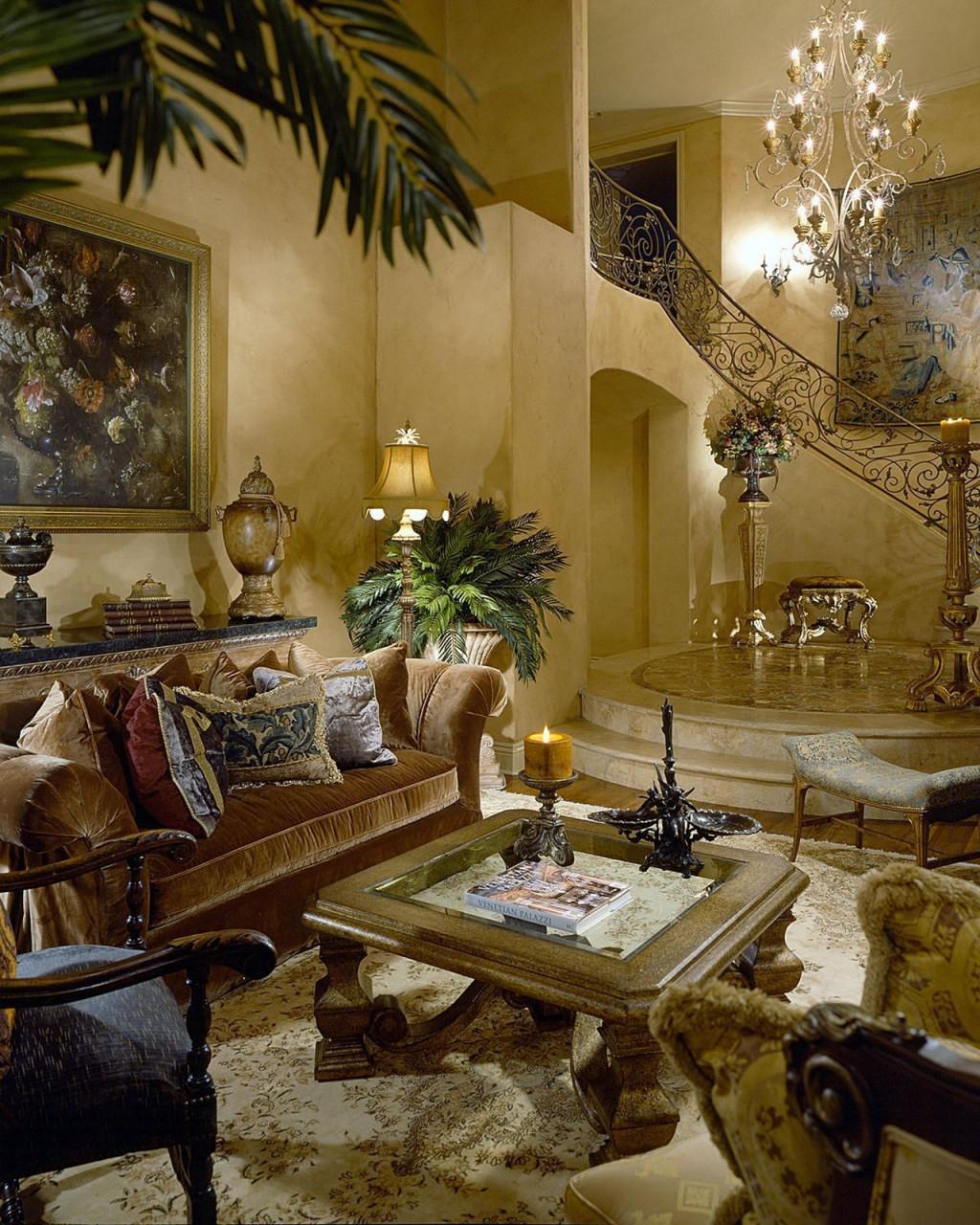 35 Mediterranean Decorating Style Options For Your Beautiful von Mediterrane Deko Wohnzimmer Bild