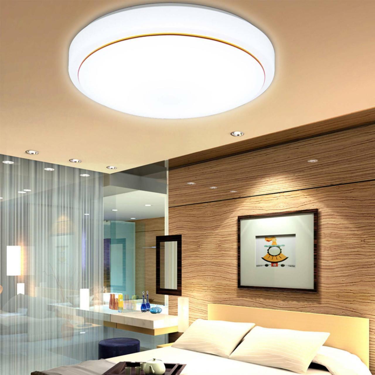 36W Led Deckenlampe Deckenleuchte Wohnzimmer Küchen Lampe Küche 40Cm Runde  Licht von Wohnzimmer Lampe Led Photo