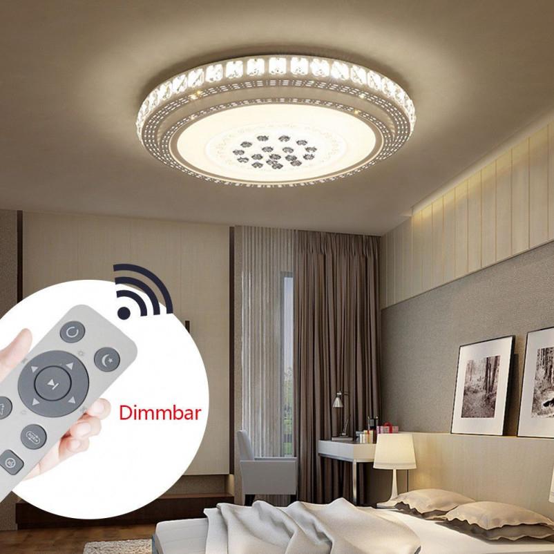 36W Led Kristall Deckenleuchte Deckenlampe Wohnzimmer von Deckenlampe Wohnzimmer Dimmbar Bild