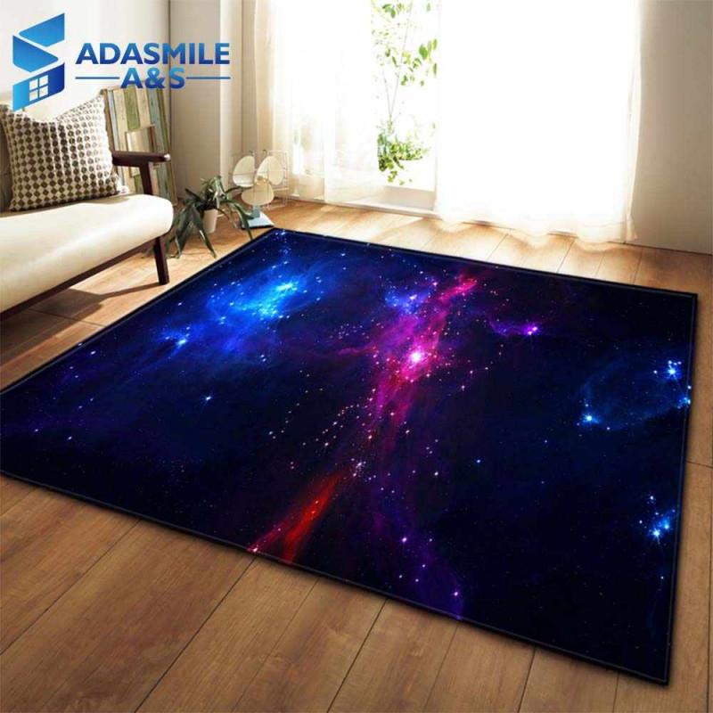 3D Galaxy Raum Sterne Teppiche Wohnzimmer Dekoration von 3D Teppich Wohnzimmer Photo