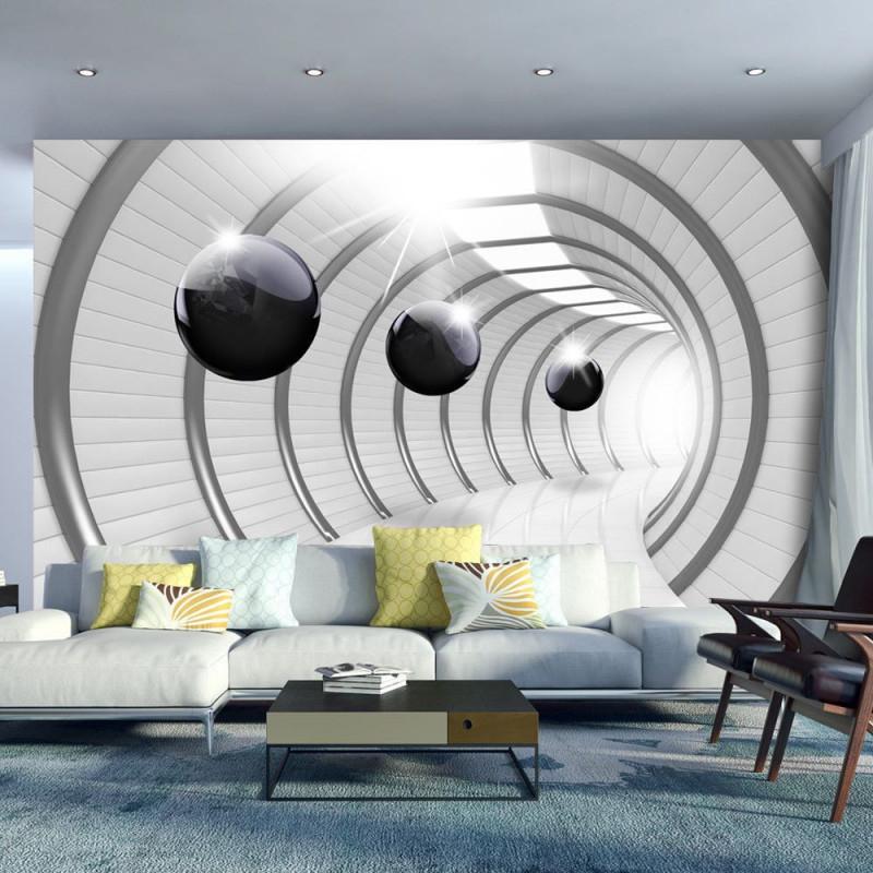 3D Optik 3D Effekt Fototapete Vlies Tapete Xxl Wandtapete von 3D Tapeten 3D Effekt Wohnzimmer Bild
