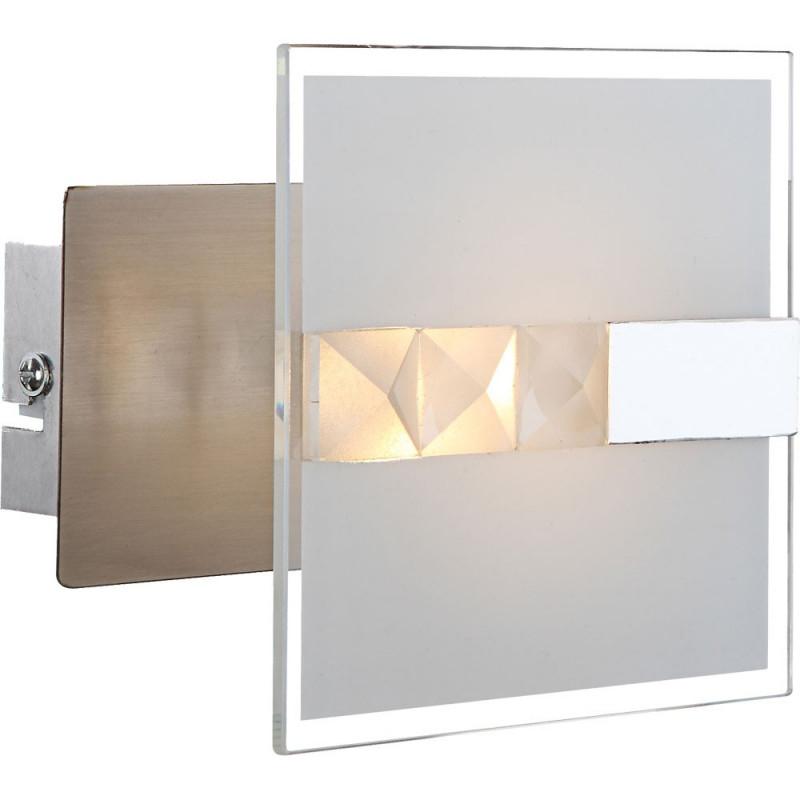 4 5 Watt Led Wand Leuchte Glas Lampe Wohnzimmer Beleuchtung Globo 417111 von Wohnzimmer Lampe Wand Bild