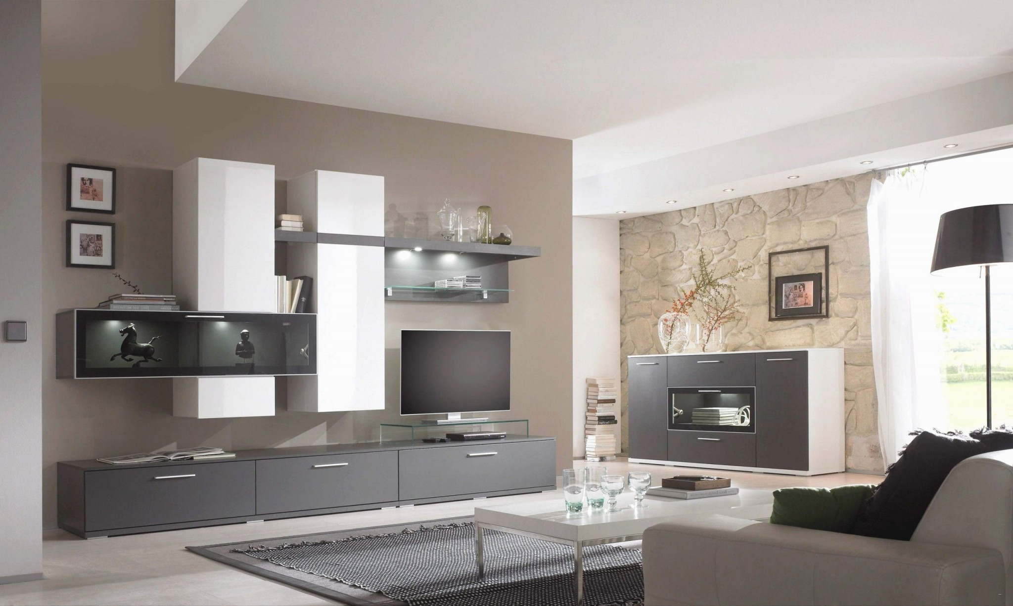 40 Genial Wohnzimmer Farblich Gestalten Das Beste Von von Wände Im Wohnzimmer Gestalten Bild