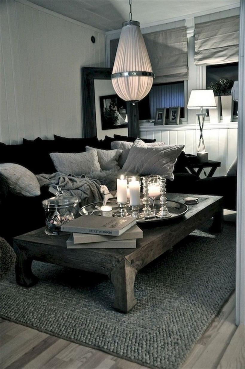44 Schöne Schwarz Und Weiß Wohnzimmer Ideen  Wohnzimmer von Wohnzimmer Ideen Schwarz Bild