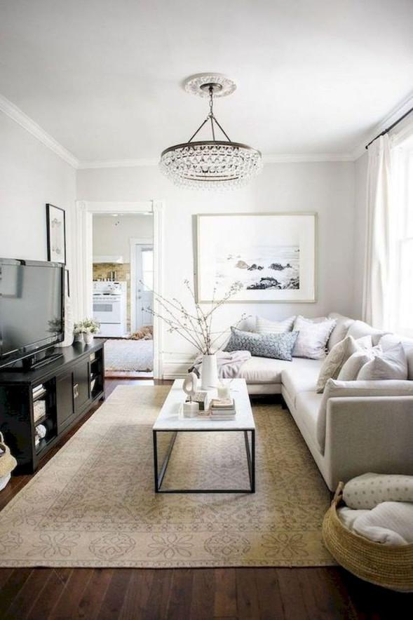 45 Creative Living Room Design And Decor Ideas For Small von Wohnraumgestaltung Wohnzimmer Ideen Photo