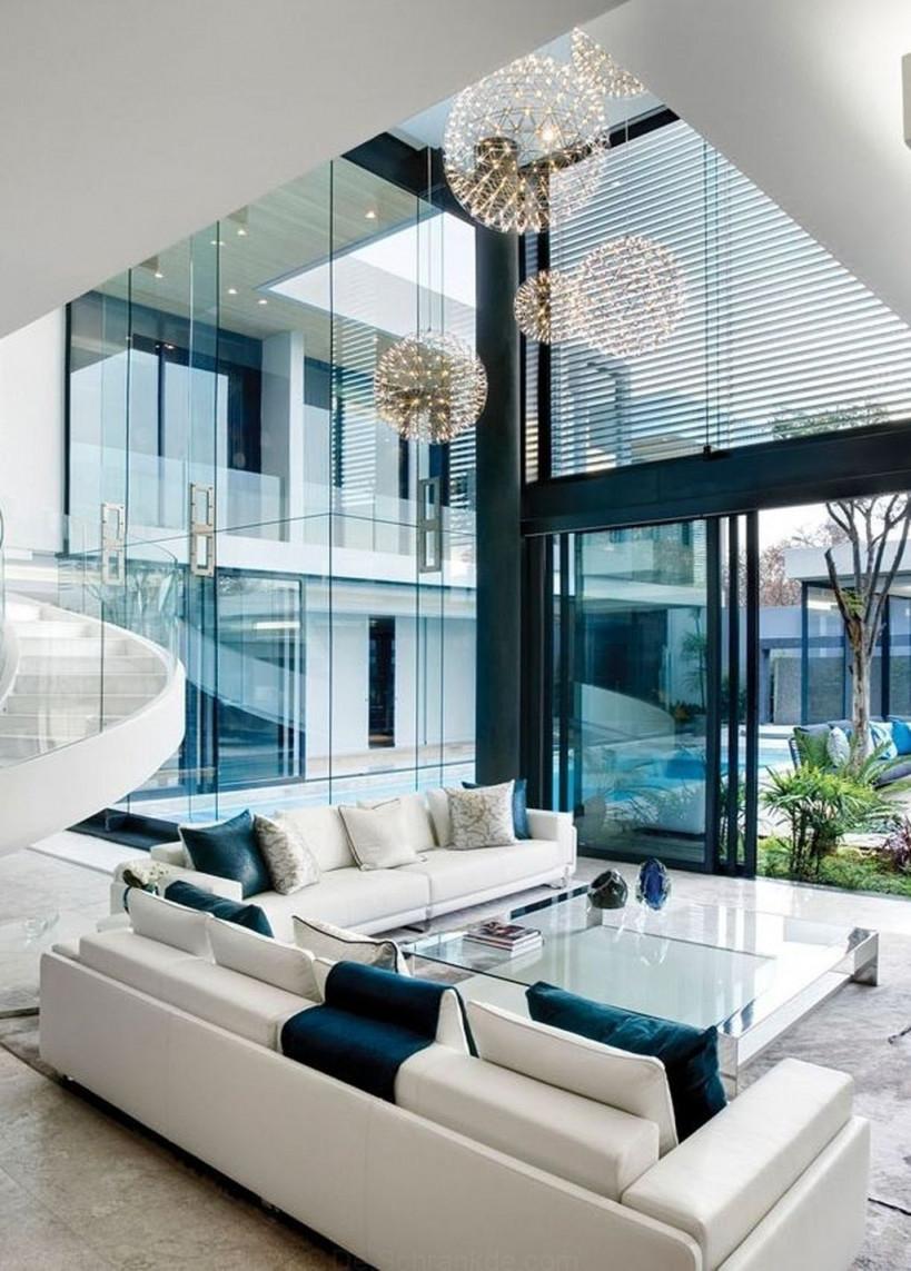 46 Große Moderne Innenraum Designideen Um Ihr Wohnzimmer von Designer Bilder Wohnzimmer Bild