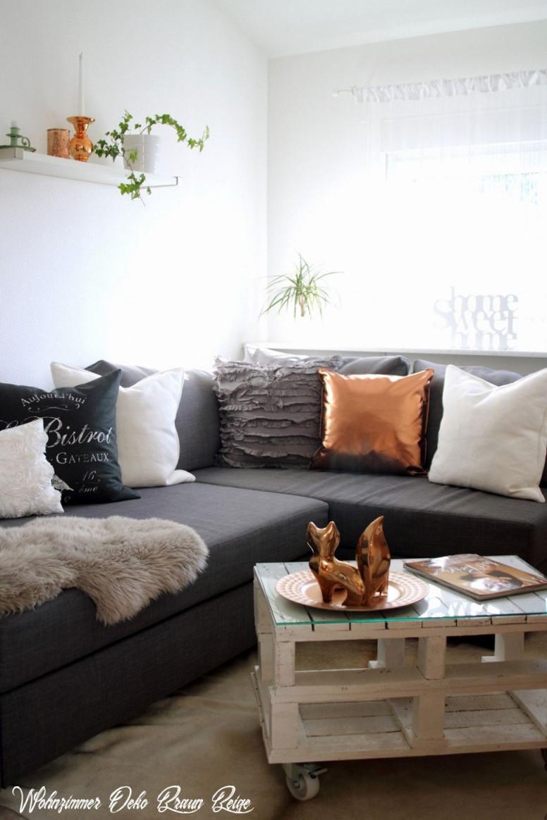 48 Wohnzimmer Deko Braun Beige In 2020  Living Room Wall von Wohnzimmer Ideen Braun Beige Bild