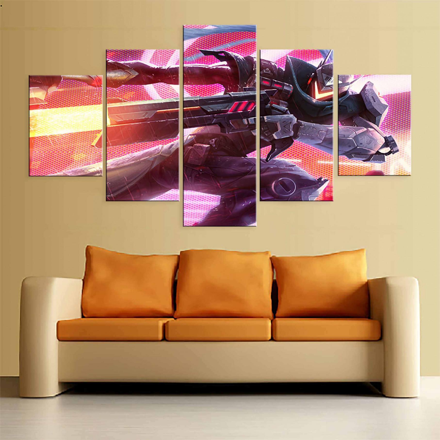 5 Stück Spiel Bild Projekt Lucian Für Moderne Dekorative von Dekorative Bilder Wohnzimmer Bild