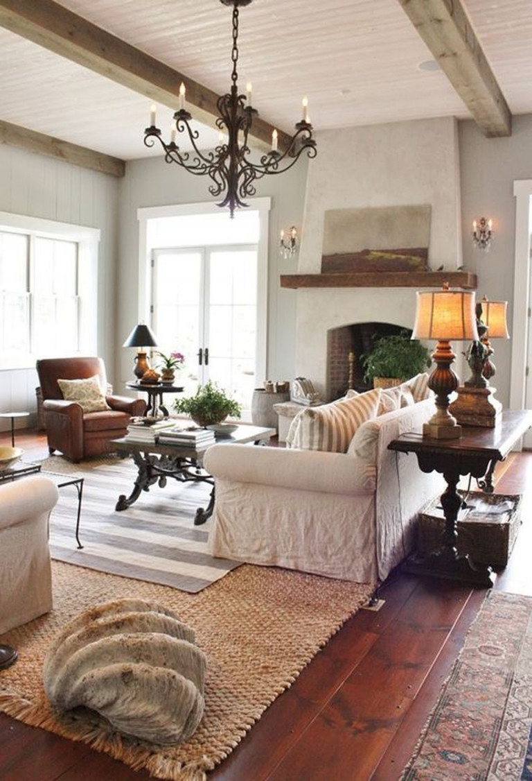 50 Fascinating Modern Mediterranean Living Room Decorations von Mediterrane Deko Wohnzimmer Photo