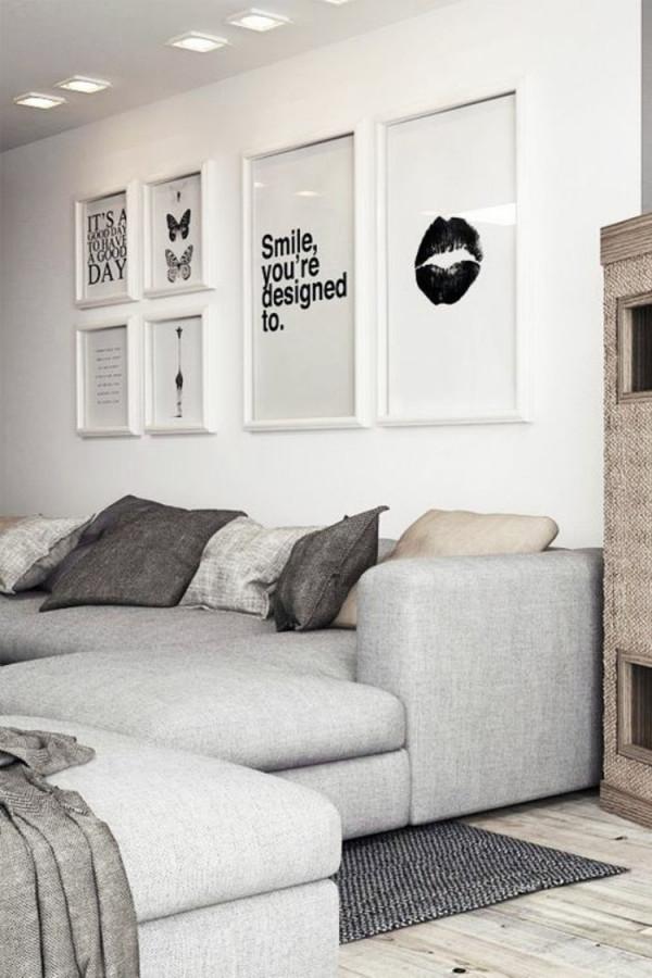 50 Fotowand Ideen Die Ganz Leicht Nachzumachen Sind von Deko Ideen Für Wohnzimmer Wand Photo