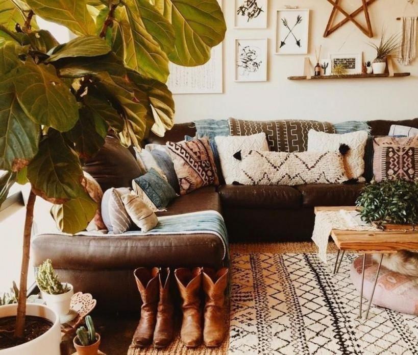 50 Rustikale Romantische Böhmische Wohnzimmerideen  Diy Und von Deko Vintage Wohnzimmer Bild