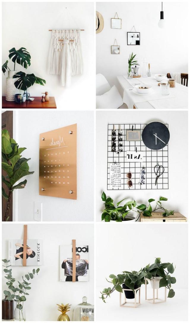 53 Minimalistische Diy Deko Ideen Für Moderne Wohnzimmer von Deko Hängend Wohnzimmer Bild