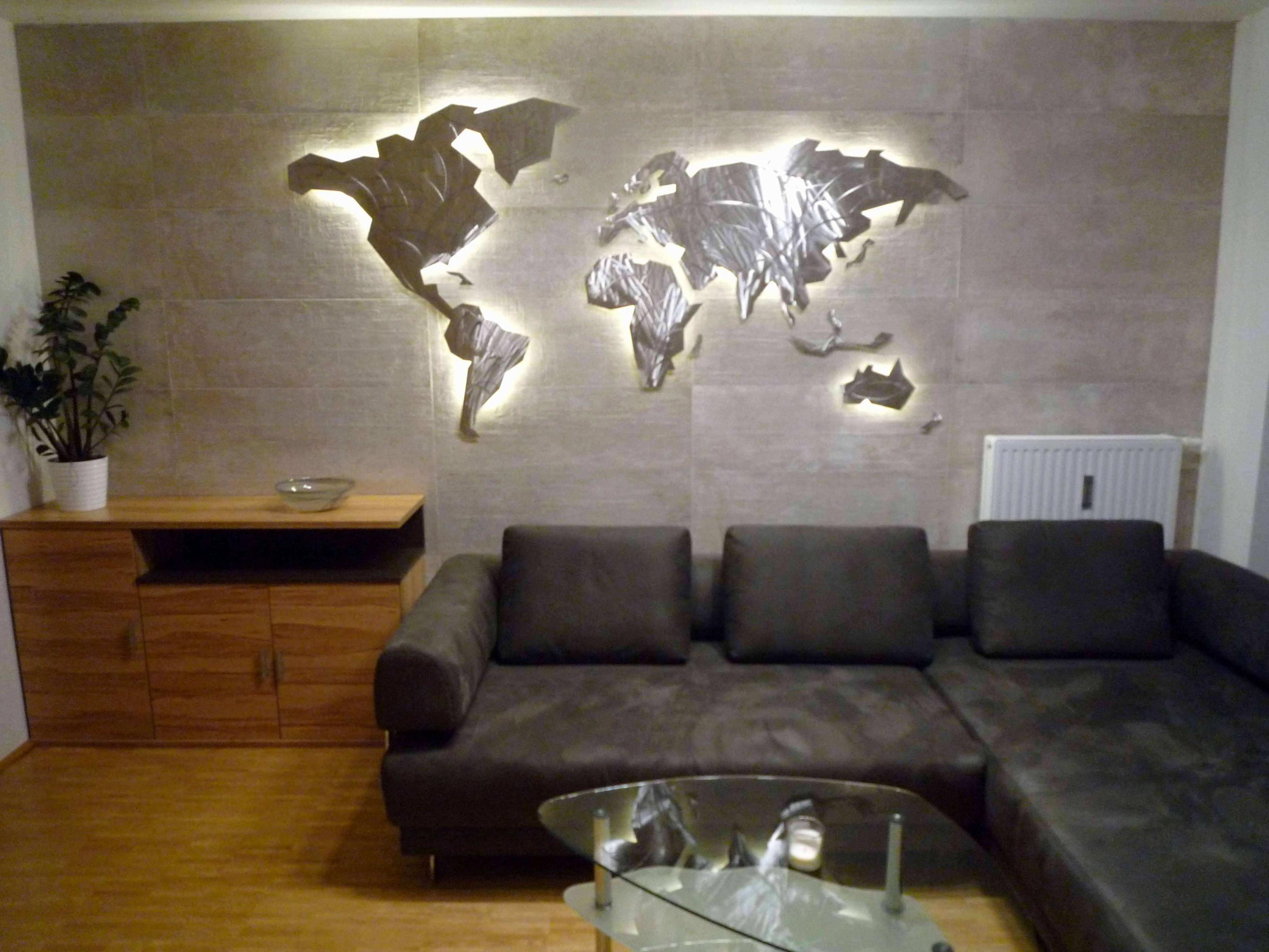 59 Einzigartig Wanddeko Wohnzimmer Metall Das Beste Von von Metall Deko Wohnzimmer Photo