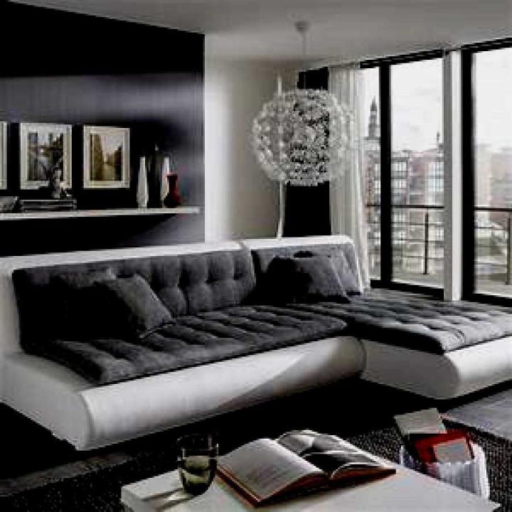 59 Genial Schwarz Weiß Wohnzimmer Inspirierend  Tolles von Wohnzimmer Ideen Weiß Bild