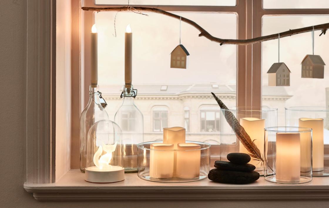 6 Wundervolle Wohnzimmerdekoideen Für Feiertage  Ikea von Deko Für Das Wohnzimmer Bild