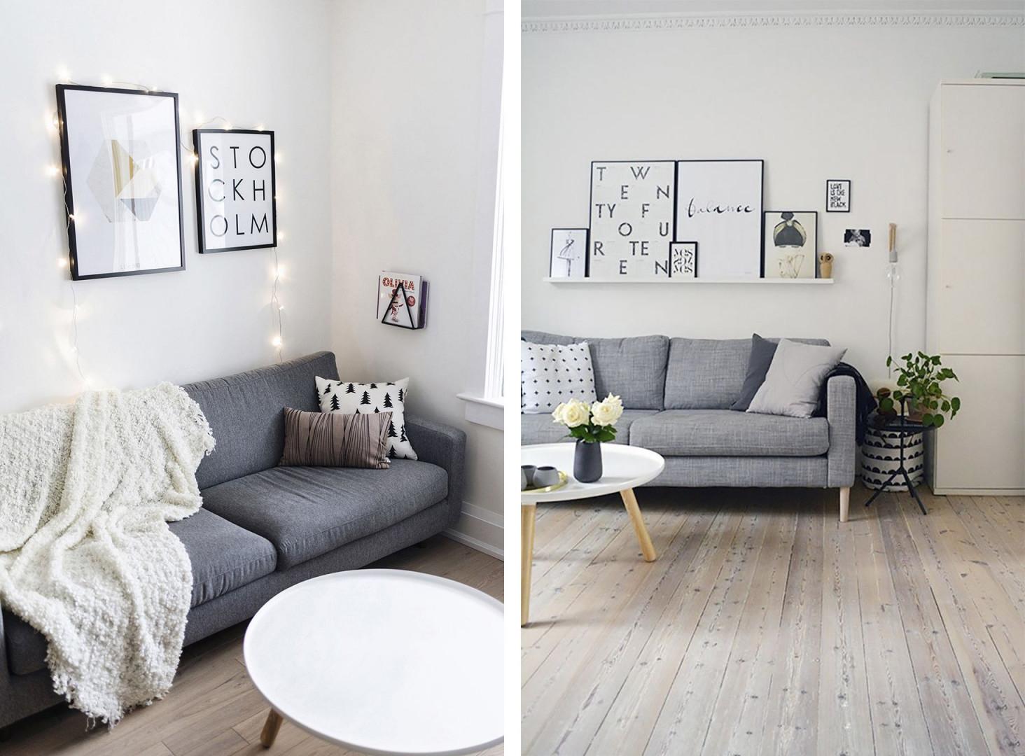 60 Erstaunliche Licht Grau Wohnzimmer Ideen  Dekomobel von Wohnzimmer Ideen Weiße Möbel Photo