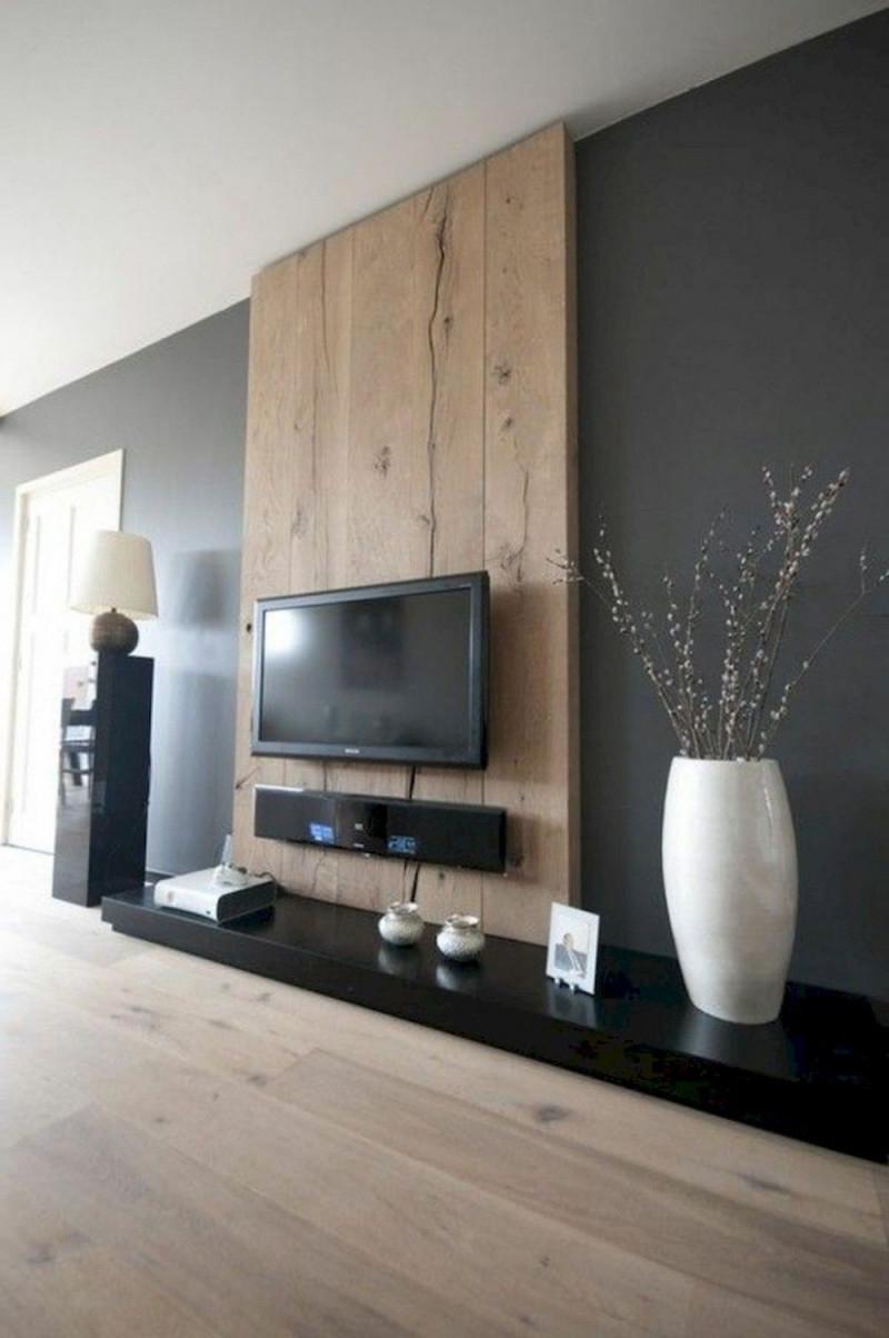60 Tv Wand Wohnzimmer Ideen Dekor Auf Ein Budget In 2020 von Wohnzimmer Ideen Wände Photo