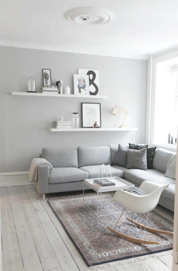 8 Inspirierend Wohnzimmer Deko Grau  Dekoration Wohnzimmer von Wohnzimmer Deko Ideen Grau Bild