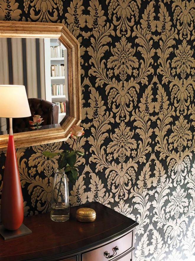 85 Wohnzimmer Tapeten Ideen – Florale Und Barock Muster von Wohnzimmer Neu Tapezieren Ideen Photo