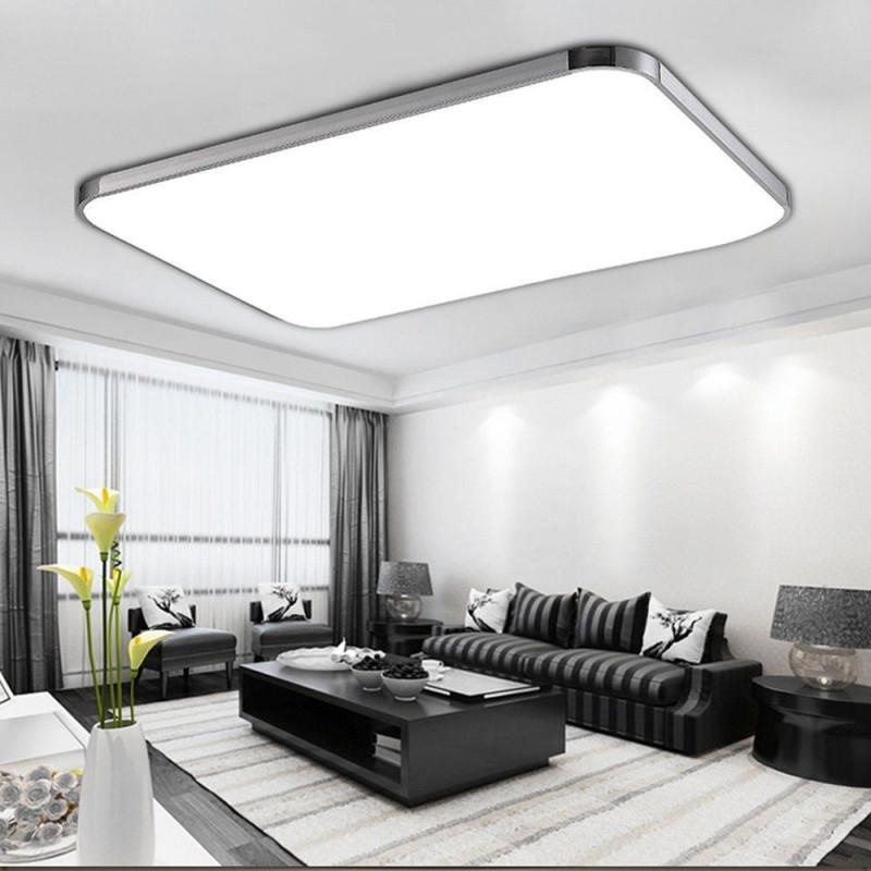 96W Led Panel Led Deckenleuchte Wohnzimmer Beleuchtung Led von Led Deckenleuchte Wohnzimmer Modern Photo