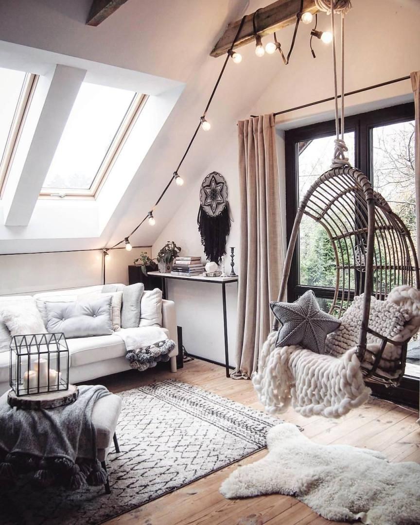 99 Tumblr Zimmer Dachschräge Ideen  Tumblr Zimmer Zimmer von Wohnzimmer Mit Dachschräge Einrichten Bild