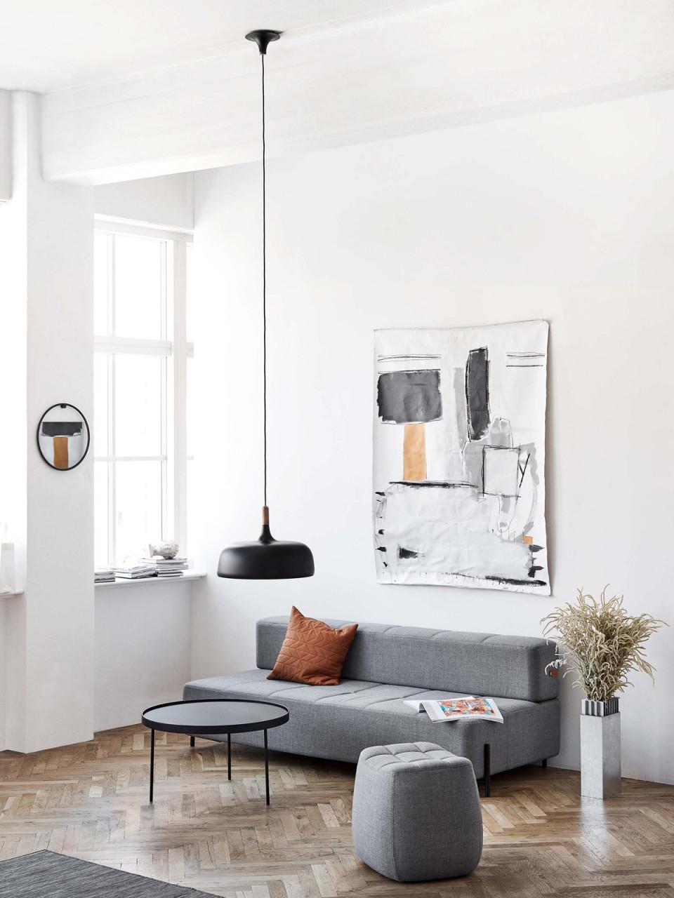 Acorn von Wohnzimmer Lampe Skandinavisch Bild