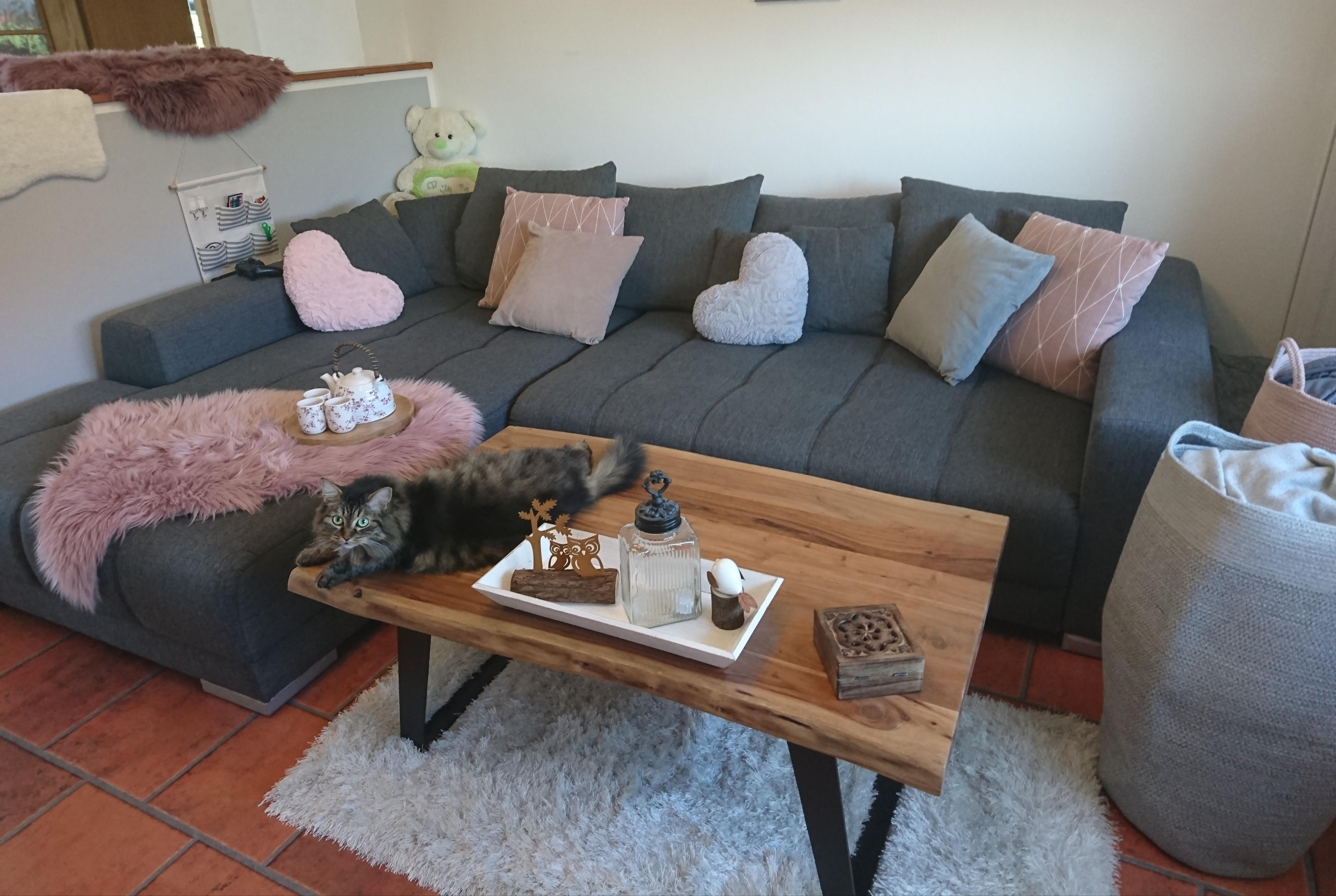 Altrosa • Bilder  Ideen • Couch von Wohnzimmer Deko Grau Rosa Bild