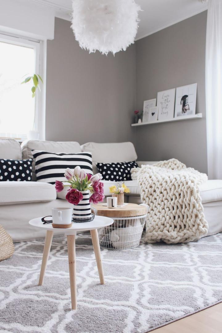 Anzeige  Wohnzimmer Einrichten Mit Otto Home  Living von Wohnzimmer Mit Teppich Gestalten Bild