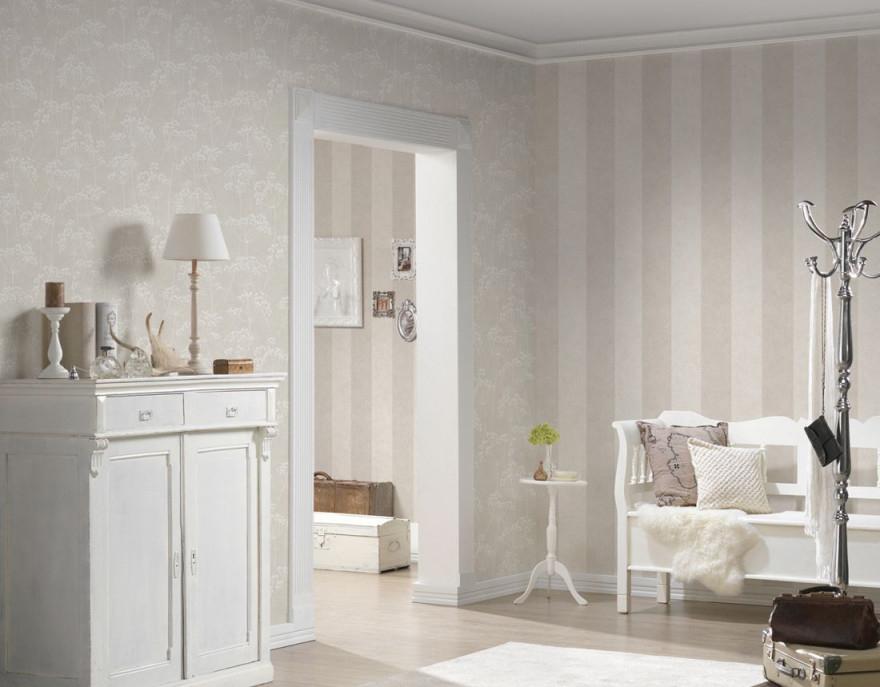 As Création Tapete 953691 Tapete Beige Weiß Natur von Tapeten Wohnzimmer Beige Bild