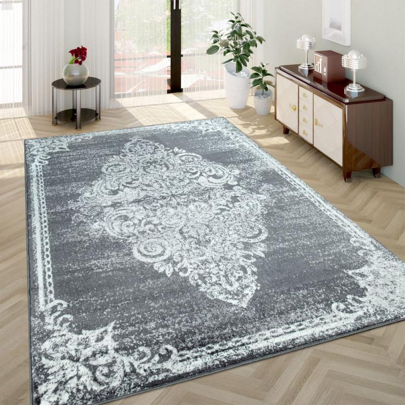 Barockteppich Wohnzimmer Usedlook von Wohnzimmer Mit Teppich Bild