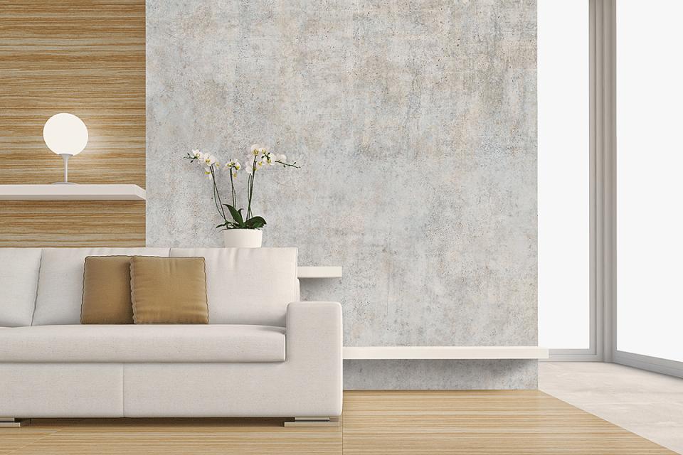 Bauarena Wohnwelt  Wandgestaltungen von Moderne Wandgestaltung Wohnzimmer Bild