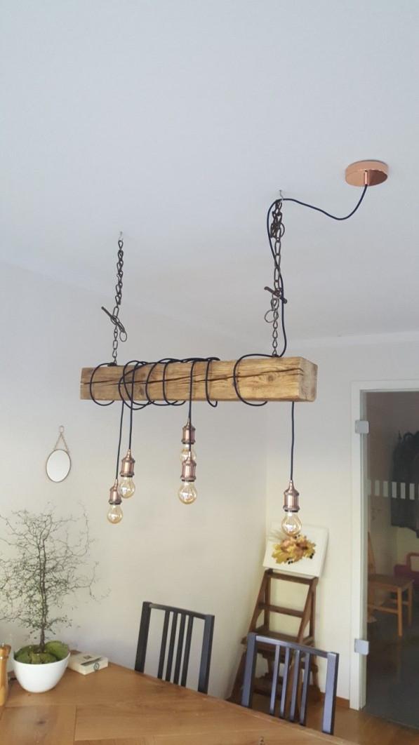 Baumstamm Als Lampe  Küchenlampen Lampe Baumstamm von Baumstamm Deko Wohnzimmer Bild